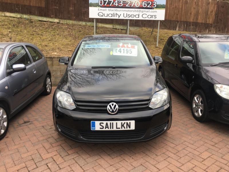 Volkswagen Golf Plus 1.6TDI IN BLACK R32 ALLOYS