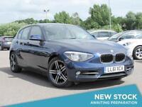 2011 BMW 1 SERIES 120d Sport Step Auto GBP30 Tax GBP2935 Of Extras