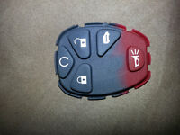 New Replacement Remote Keyless Fob Rubber Button Pad