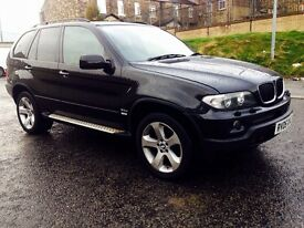 2005 BMW X5 3.0 d Sport SUV 5dr Diesel Automatic ( 218 bhp) SAT Nav Live TV Swap P.x Welcome