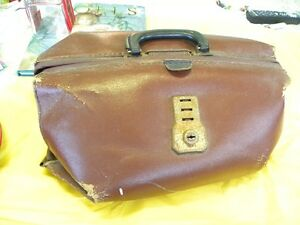 Dr's Bag, Old Leather   price $40.00 firm