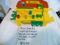 John Deere Items Priced Individually $10 or less