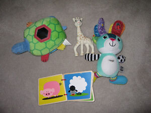 Lot of baby or toddler toys in excellent condition
