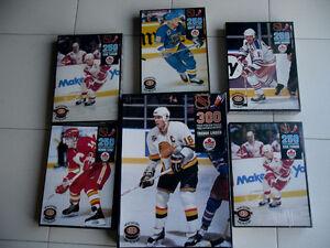 Ensemble de 6 casse-tetes NHL VIntage 1992 jamais ouverts
