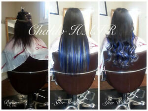 HAIR EXTENSIONS, colour, cut and more.... (FB: Chaldo HAIR) Kitchener / Waterloo Kitchener Area image 8