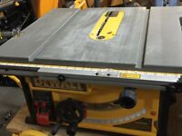 Dewalt 10 inch table saw