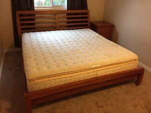 4 piece King bed set,MUST GO!!!