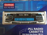 Cassette player (goodmans)