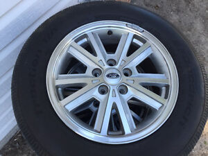 Mustang rims and tires
