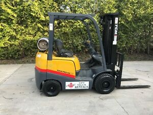 Rare 2009 TCM outdoor forklift-only 4500hours