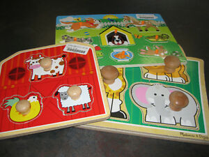 Assortment of toddler friendly puzzle's London Ontario image 1