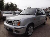 Nissan Micra 1.0 16v 2001 S 63000MILES