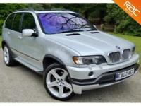 2002 02 BMW X5 4.6 IS 5D AUTO 342 BHP NAV+SUNROOF+20