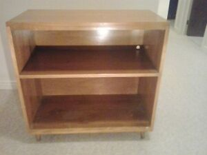 Solid Maple Bookcase