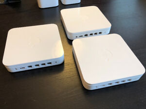 Apple AirPort Base Station wireless routers
