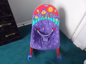 FISHER PRICE ROCKER / VIBRATING CHAIR