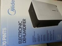 70 Pint Brand NEW Quiet Dehumidifier from Sears