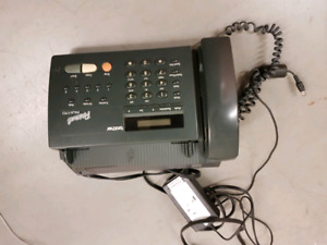 phone with fax