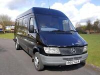 MERCEDES SPRINTER 410D + TWIN WHEELS + LWB + 3.5 TON + MOT 2017