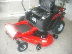 BRAND NEW SNAPPER ZERO STEER MOWER!