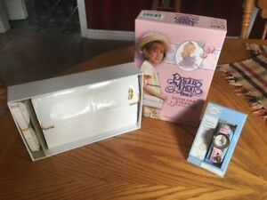 Childrens Precious Moments Bible Purse and Watch