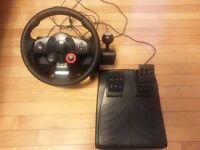 Logitech GT Driving Force Steering Wheel