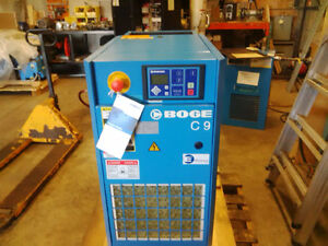 New 10 hp BOGE Rotary Screw Air Comporessor