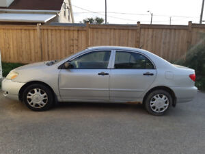 2004 Toyota Corrolla for sale - As is - SOLD