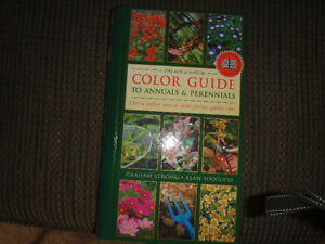 Color Guide to Annuals & Perennials book