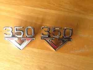 1969-70 Pontiac 350 Cu In fender emblems pr Kitchener / Waterloo Kitchener Area image 8