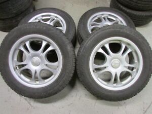 Rims with Winter Tires 215/60 R16