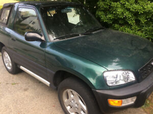 Toyota Rav 4 1999 soft top- for sale or trade