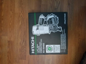 Hitachi NV45AB2 1 3/4-in Pneumatic Coil Roofing Nailer