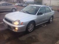 2003 Subaru Impreza 2.5RS Sedan AWD w/Michelin x-ice 3 Tires