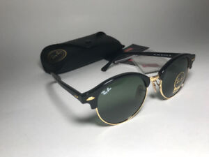 Ray-ban Clubround Gold and Black