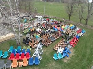 Recycled Plastic Muskoka Chairs Largest Selection From $199-$379