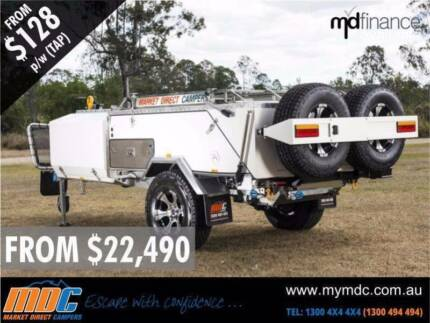 MDC VENTURER REAR FOLD CAMPER TRAILER OFFROAD Campbellfield Hume Area Preview