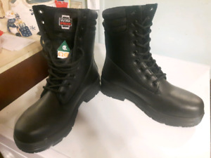 Certified safety boots