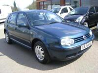 Volkswagen Golf 1.6 SE 2 FORMER KEEPERS 13 STAMPS