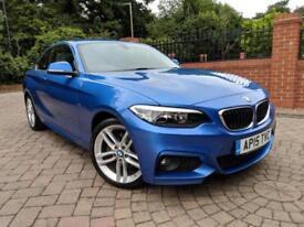 15 Reg BMW 220d 2.0 M Sport Auto F22 Coupe [190] *1 Owner, FSH, VAT Q*