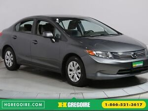 2012 Honda Civic LX A/C BLUETOOTH GR ELECTRIQUE