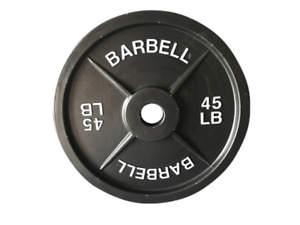 ISO: Steel Barbell Plate Weights