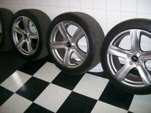 Ford rims and tires 19 in.