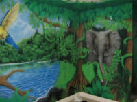 wall murals and theme rooms by Starving Studios