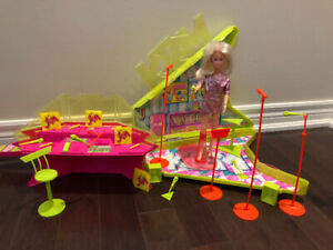 Vintage JEM and the Holograms guitar play set