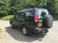 Land Rover discovery td5 7 seater 2001 long mot