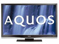 """Sharp Aquos 46"""" inch Full HD LCD TV, 1080p, Freeview, 3 x HDMI, Flat Screen Television not 40 42 43"""