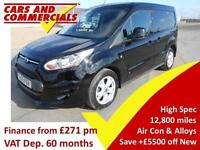 2016 FORD TRANSIT CONNECT 1.6 TDCi 115ps Limited