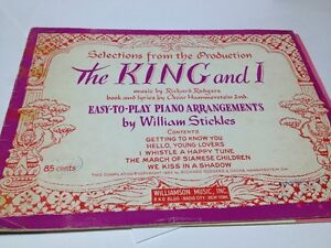 Vintage sheet music for Piano