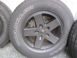 JEEP WRANGLER ALLOY WHEELS/TIRES
